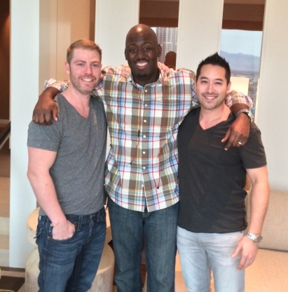 Sussess Stories Eddy Salomon with Wealthy Affiliate Founders Kyle and Carson