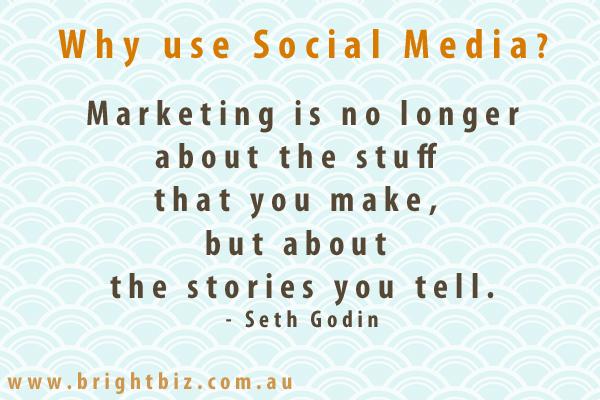 Seth Godin quote on Social Media