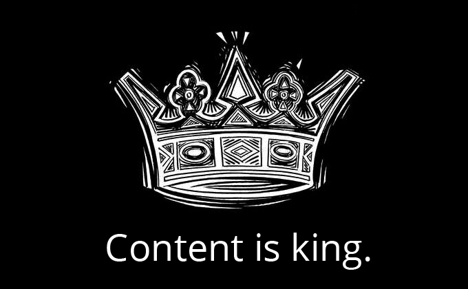 Content really is king when it comes to affiliate marketing