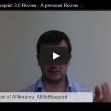 AffilioBlueprint 3.0 Video review
