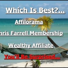 We compare Chris Farrell Membership Mark Lings Affilorama and Wealthy Affiliate to discover which is the best online affiliate marketing training