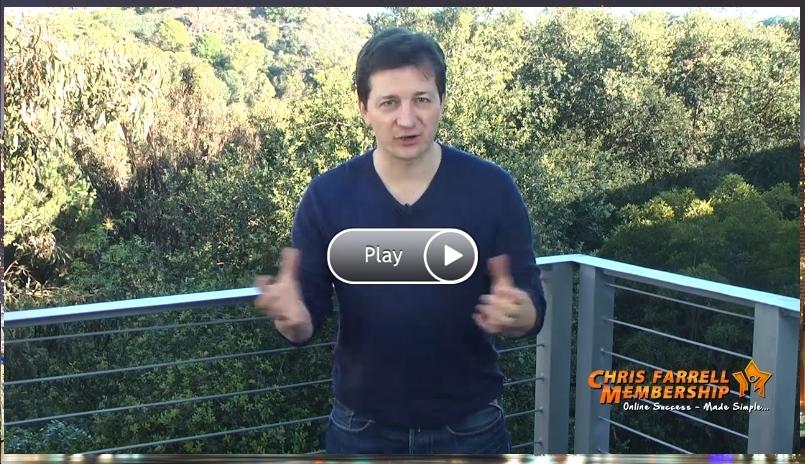 Chris Farrell Video - Chris introducing his CFM program