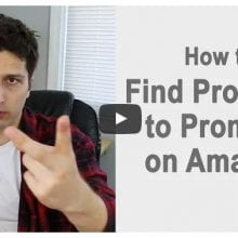 Dan shows us a fast way to find profitable affiliate products to promote on Amazon