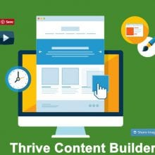 Thrive Content Builder - video review by Perrin of Niche Hacks