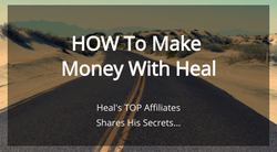 Michael Mansell video sharing how you can meke money in Heal leveraging his team.