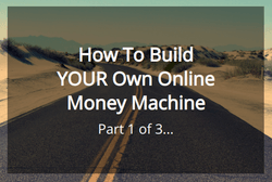 Vick Strizheus teaches us how to build our our online money machine this is video 1